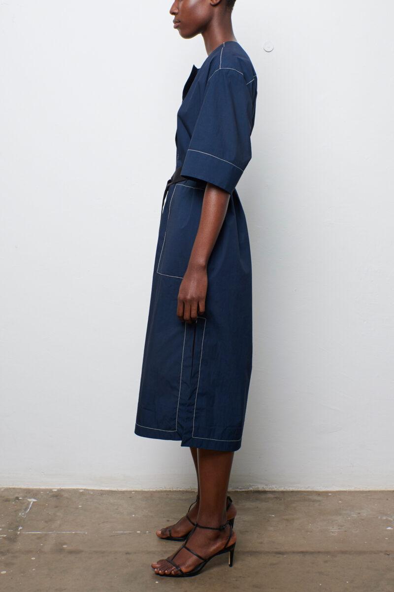 Top Stitch Dress