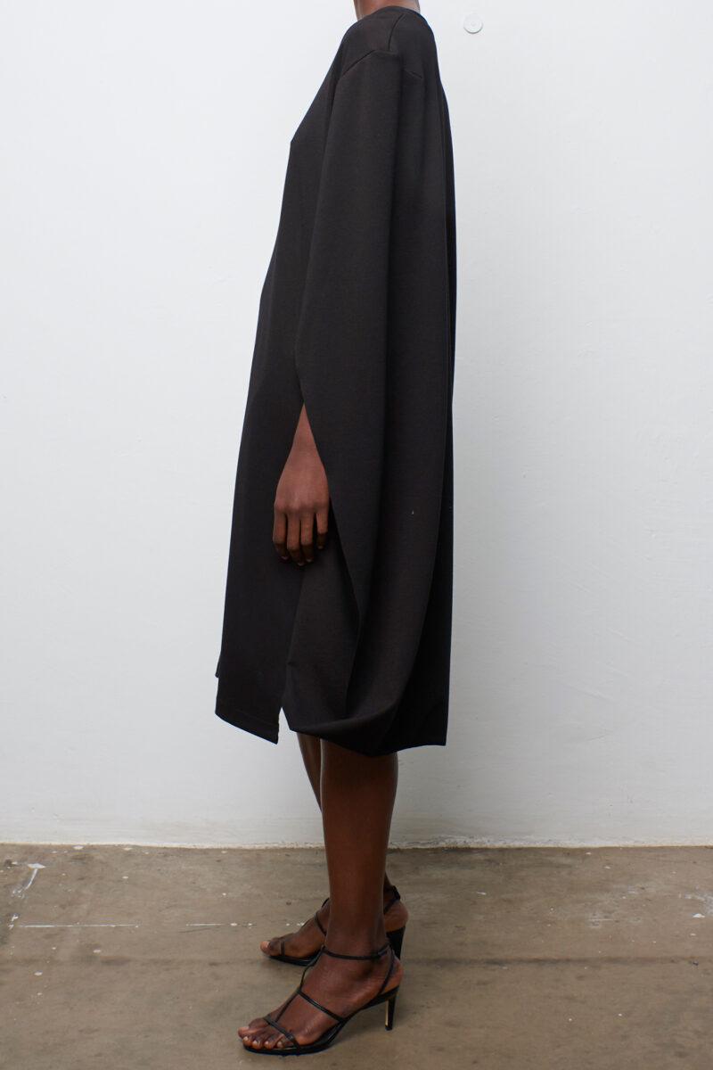Folded Cape Dress