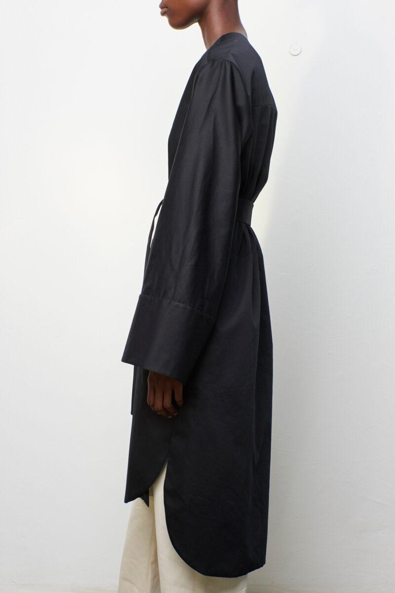 Shirt Coat Black