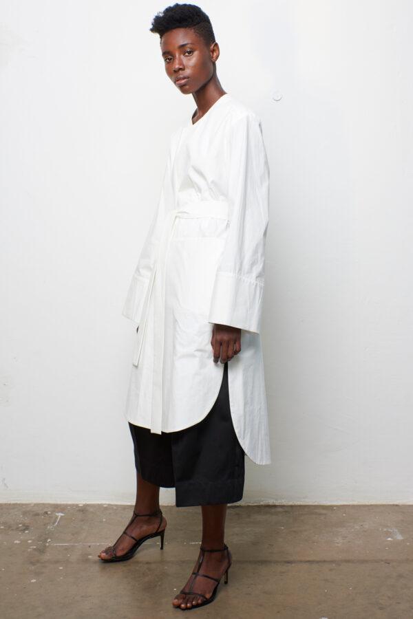 Shirt Coat White