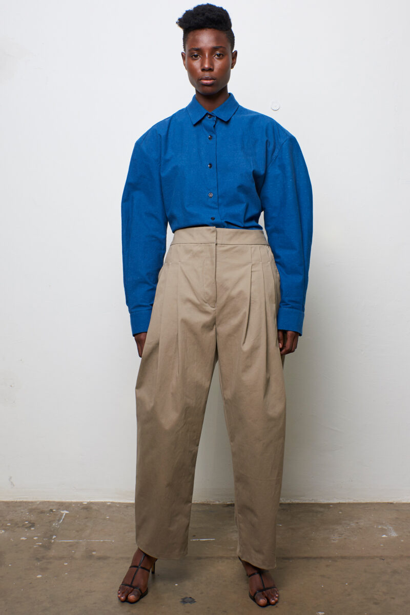 Pleat Front Trouser