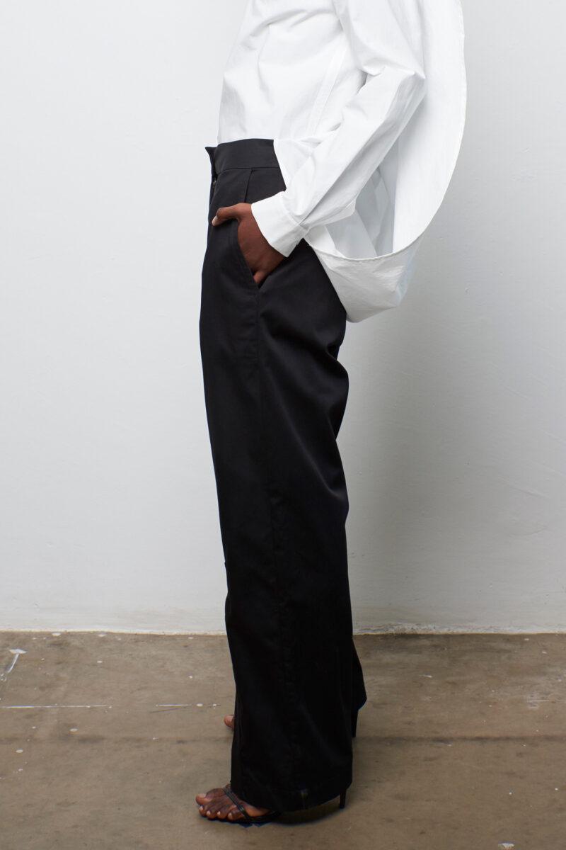 Placket Trouser