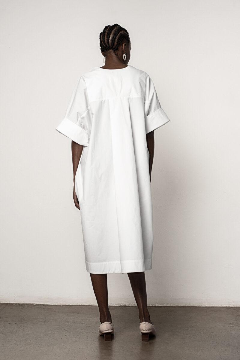 Kaftan Polo Dress