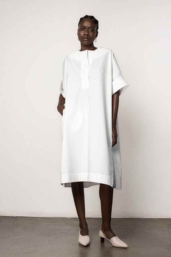 Kaftan Polo Dress