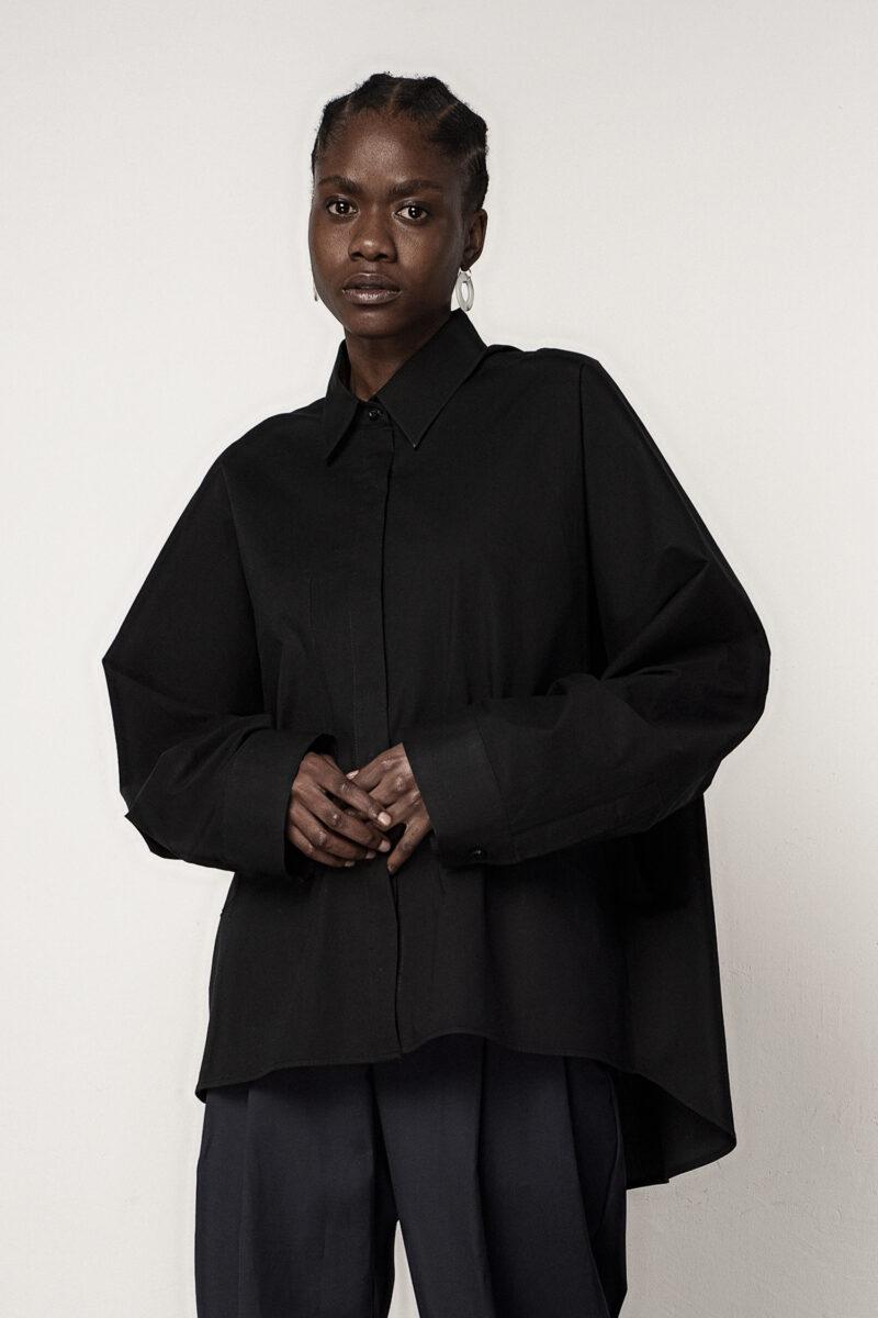 Classic Oversized Shirt Black