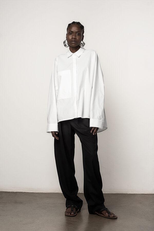 Classic Oversized Shirt White