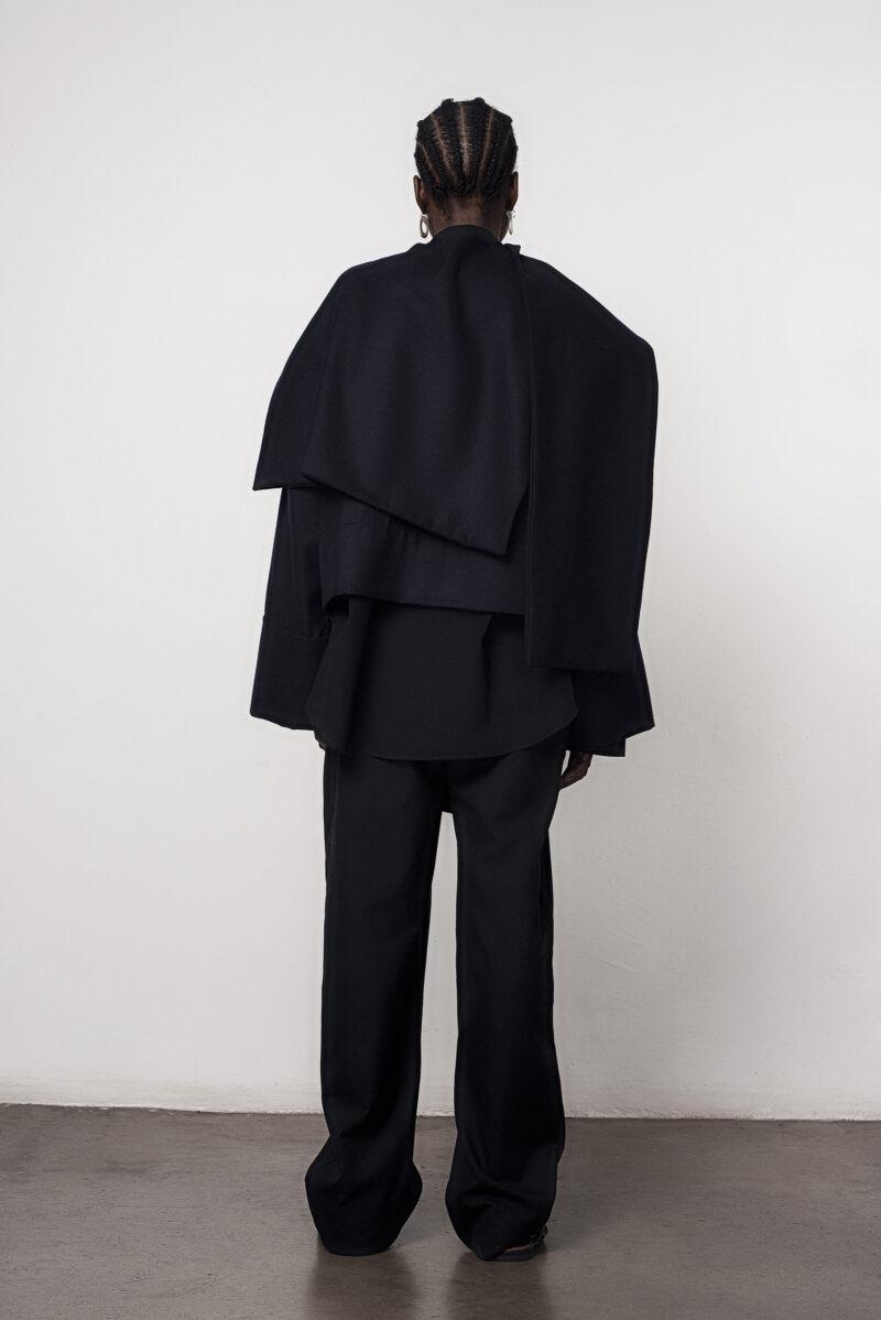 Scarf Jacket