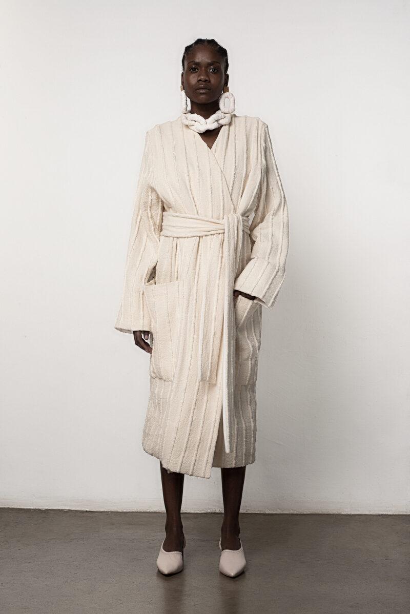 Hand Woven Coat