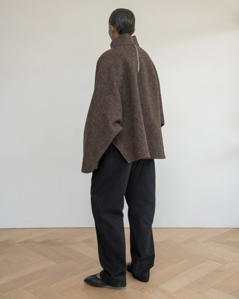 Boiled Wool Pullover