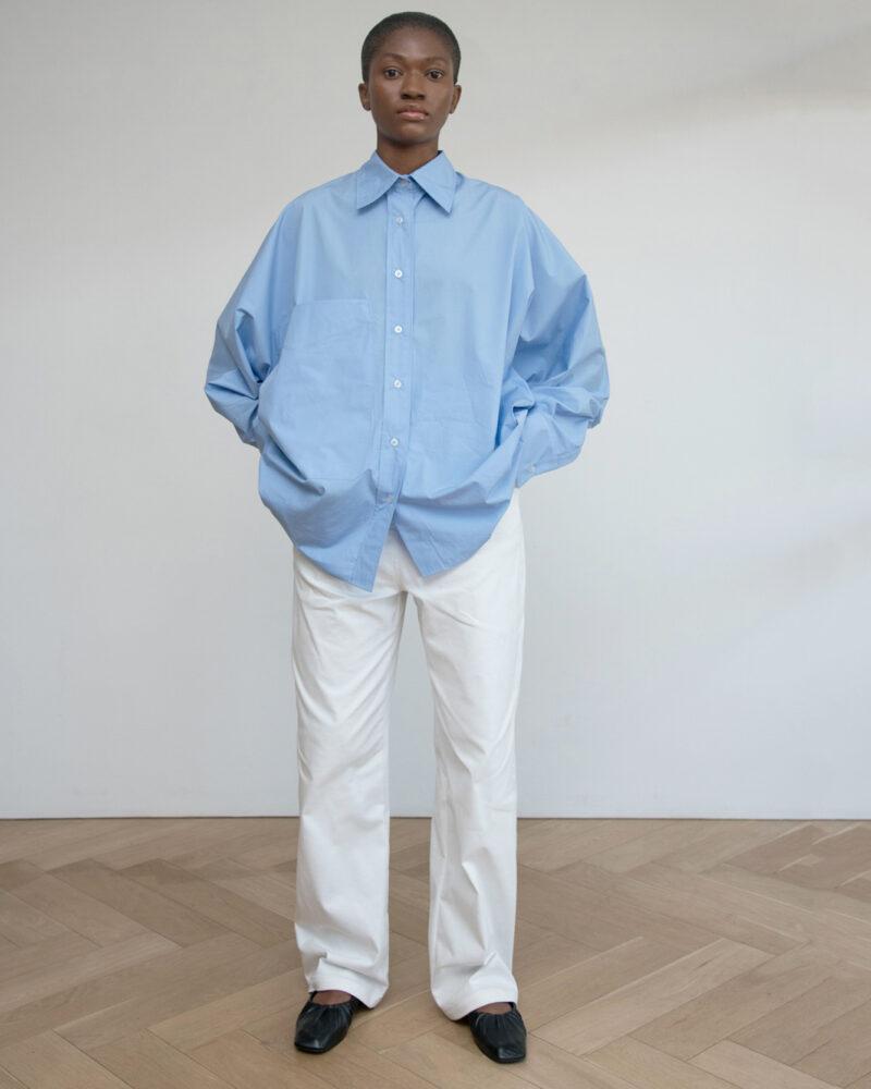 Big Shirt with Big Patch Pocket