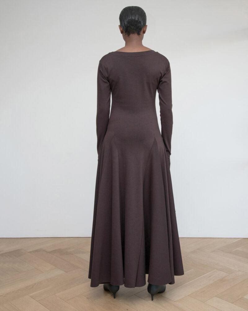Scoop Neck Dress