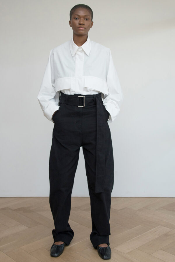 Belted Trouser Tapered