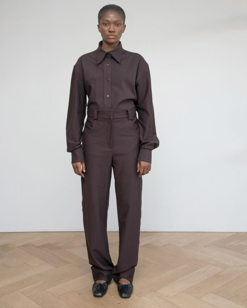 Relaxed Ponte Trouser